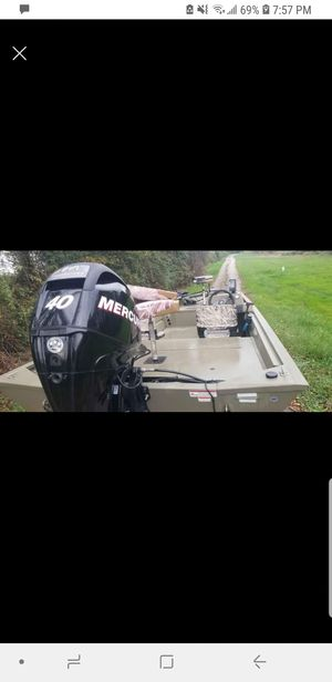 2014 tracker grizzly 1860 for Sale in Rising Sun, MD