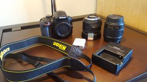 Nikon D3400 (with lenses and accessories) for Sale in Sewickley, PA
