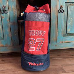 Mike Trout #27 LA Angels Cooler Backpack for Sale in Orange,  CA