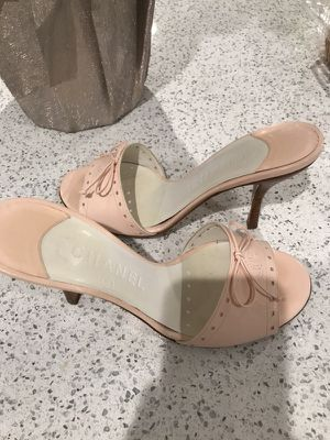 Chanel Pink Mules for Sale in Mount Vernon, NY