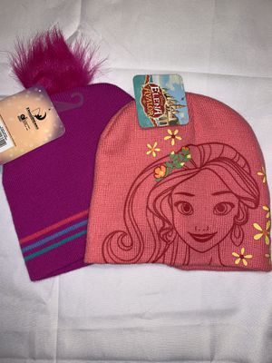 2 Kids Hats- Trolls & Elena Of Avalor NWT for Sale in Vancouver, WA