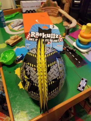 """Bike and skate helmet """"Raskulls"""" ages 3+ for Sale in Fresno, CA"""