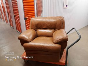 Leather Recliner Supersoft Deerskin Sofa Chair Electric for Sale in Parker, CO