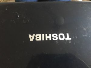 TOSHIBA LAPTOP WITH WINDOWS 7 for Sale in Riverside, CA