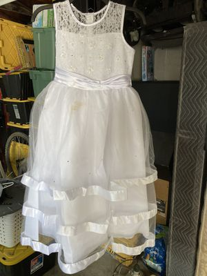 First Communion or Flower Girl Dress Size 10 for Sale in Pomona, CA