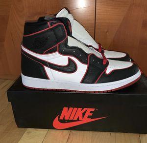 "Jordan 1 High Retro ""Bloodline"" Size 9-9.5 for Sale in Chicago, IL"