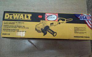 """*BRAND NEW* DEWALT D28115 13 Amp 4-1/2""""-5"""" High Performance Grinder w/ Trigger Grip for Sale in Baltimore, MD"""