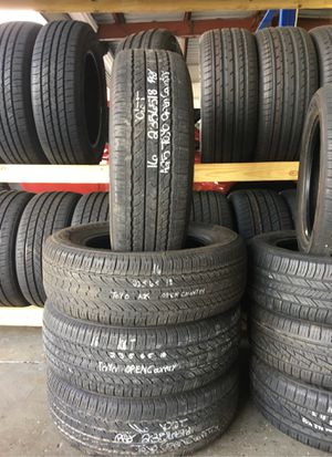 (4) used 235/65/18 tires for Sale in Orlando, FL