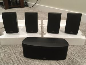 Polk Audio RM6700 5 piece speaker system for Sale in Vienna, VA