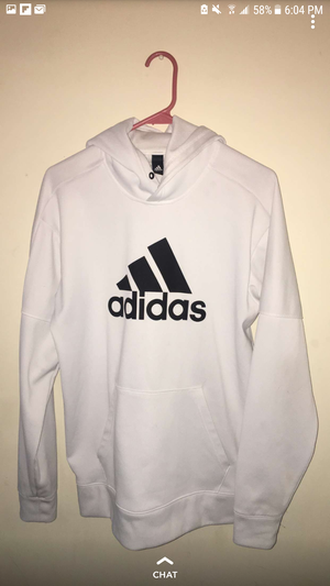 Adidas hoodie (white) for Sale in Marietta, GA