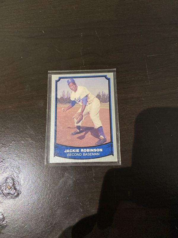 Jackie Robinson original baseball legends card