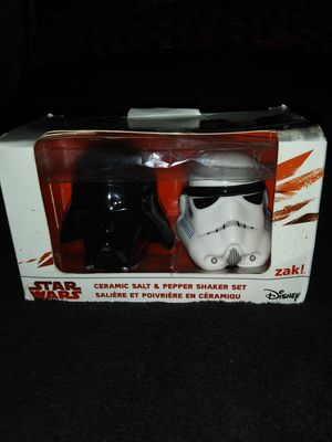 Star wars salt and pepper shakers for Sale in Quincy, IL