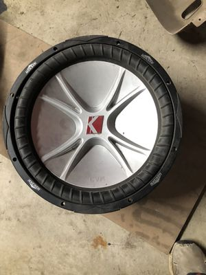 Subwoofers for repair for Sale in Godfrey, IL