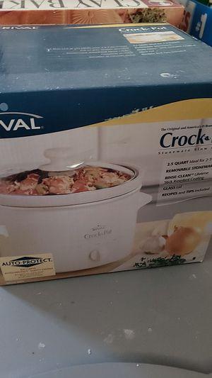 RIVAL Crock Pot (New) for Sale in Austin, TX