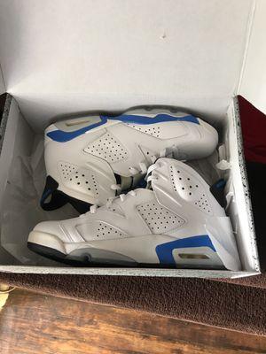 Air Jordan Sport Blue 6s for Sale in Nashville, TN