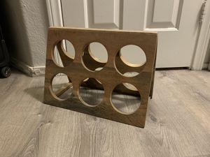 wooden wine rack $15 for Sale in Las Vegas, NV