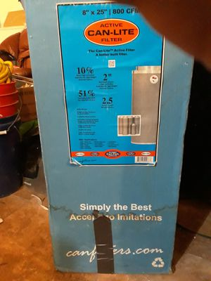 """Can-lite 8""""x25"""" active air filter new in box for Sale in Anchorage, AK"""