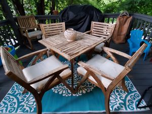 Wooden patio set for Sale in Frederick, MD