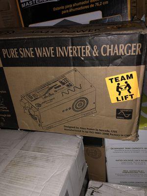 Aims Power pure sine wave inverter & charger picoglf30w12v120vr for Sale in Monticello, GA
