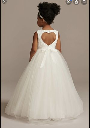 David's bridal flower girl dress for Sale in Vancouver, WA