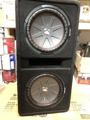 Kicker comp R 12 subs for Sale in Tulsa, OK