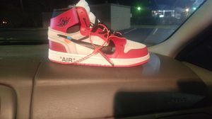 """Off White Jordan 1 """"Gym Red"""" for Sale in Richmond, KY"""