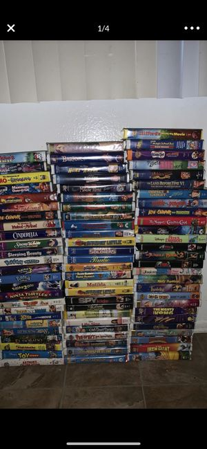 78 VHS Disney movies for Sale in Cypress, CA