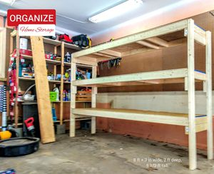 🚛 DELIVERY STATEWIDE on SUPER-SIZED Storage Shelves. for Sale in Portage, MI