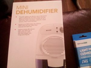 Mini Dehumidifier! Portable compact Camping, RV, bathroom! for Sale in Monroe, LA