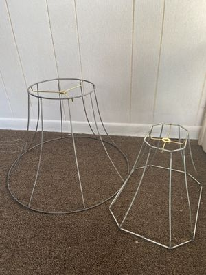Vintage deconstructed lamp shades (2) for Sale in Cashmere, WA