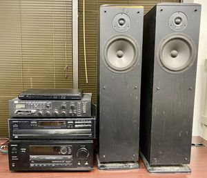 Stereo Equipment Tuner Speakers CD player, DVD, amplifier for Sale in St. Petersburg, FL