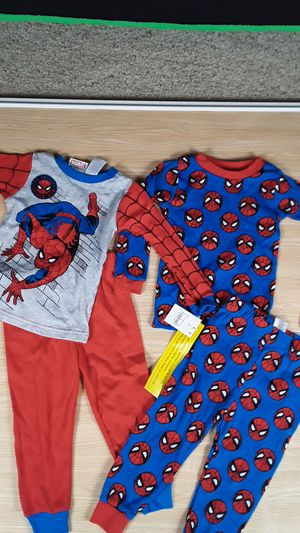 New Marvel Spiderman 4 Piece Pajama set size 2T (w/ tags) for Sale in Las Vegas, NV