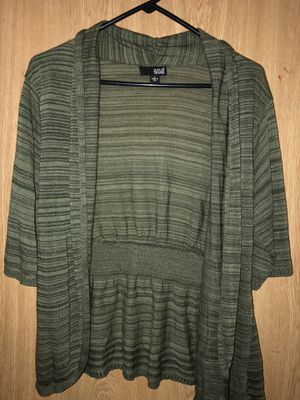 Olive green Cardigan for Sale in Gervais, OR