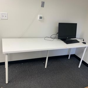 IKEA Long White Desk for Sale in Placentia, CA