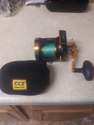 Seaspirit salt striker fishing reel model SA248R used 2 times for Sale in Lake Stevens, WA
