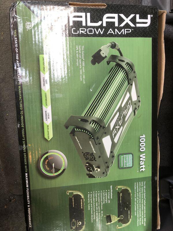 Galaxy Grow Amp 1000 watts