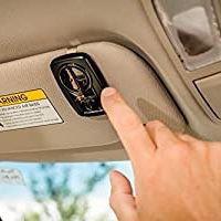 Chamberlain Group KLIK3U-BK Clicker Universal 2-Button Garage Door Opener Remote with Visor Clip, Black Brand new!, for Sale in Long Beach, CA