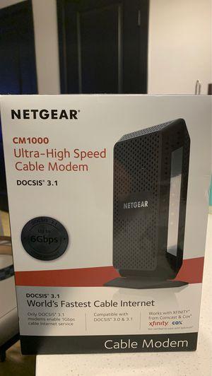 Netgear MODEM for Sale in Dallas, TX