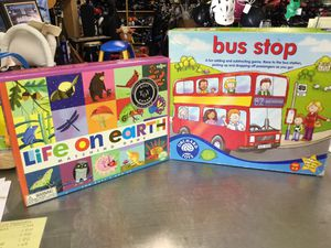 Life on Earth & Bus Stop Games for Sale in Matawan, NJ
