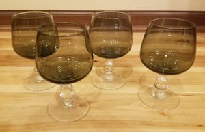 Gray Tinted Wine Glasses (Set of 4) for Sale in Andover, MN