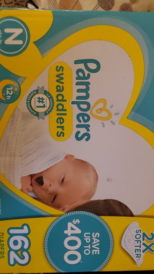Diapers (Pampers Swaddlers) newborn for Sale in Las Vegas, NV