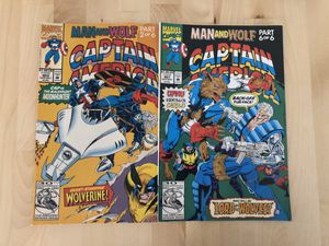 Marvel captain America collectible comics for Sale in Los Angeles, CA