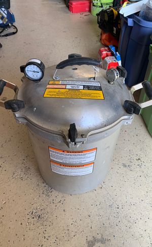 All American model 930 pressure cooker for Sale in Silver Spring, MD