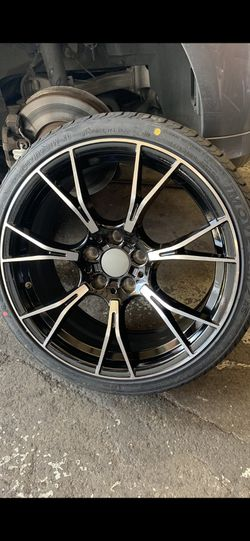 """Bmw19"""" New M Style Rims Tires Set for Sale in Hayward,  CA"""