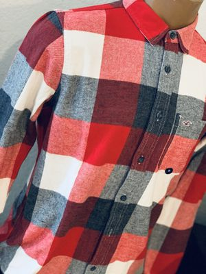 New men's flannel shirt size Med with tags $$$35 for Sale in Fontana, CA