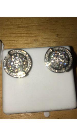 Real 10k 1 ct diamond earrings for Sale in Nashville, TN