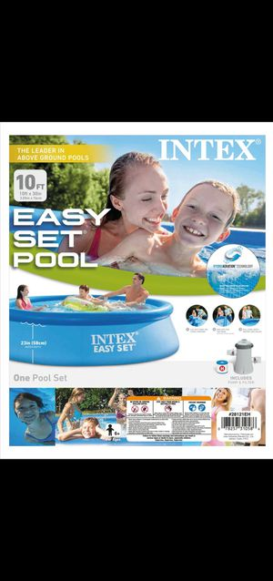 """10 ft x 30 in Deep Inflatable Family Swimming Pool Comes with**PUMP AND FILTER** """"Don't Be Fooled"""" for Sale in El Monte, CA"""