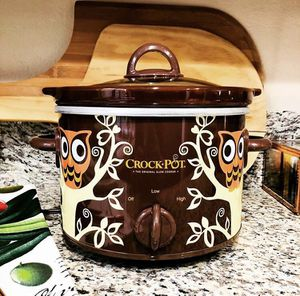 Retro Mod OWL Sunbeam Crock-Pot Slow Cooker 2.5 Qt Brown Orange SOLD OUT for Sale in Las Vegas, NV