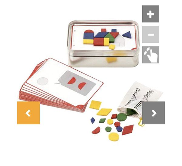 New magnetic shape game - mighty mind toys - great for homeschool or travel