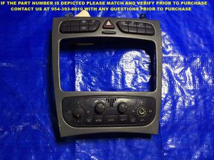 OEM 2001 02 03 04 MERCEDES C CLASS CLIMATE CONTROL SWITCH AC HEATER A2098300185 for Sale in Miami Gardens, FL